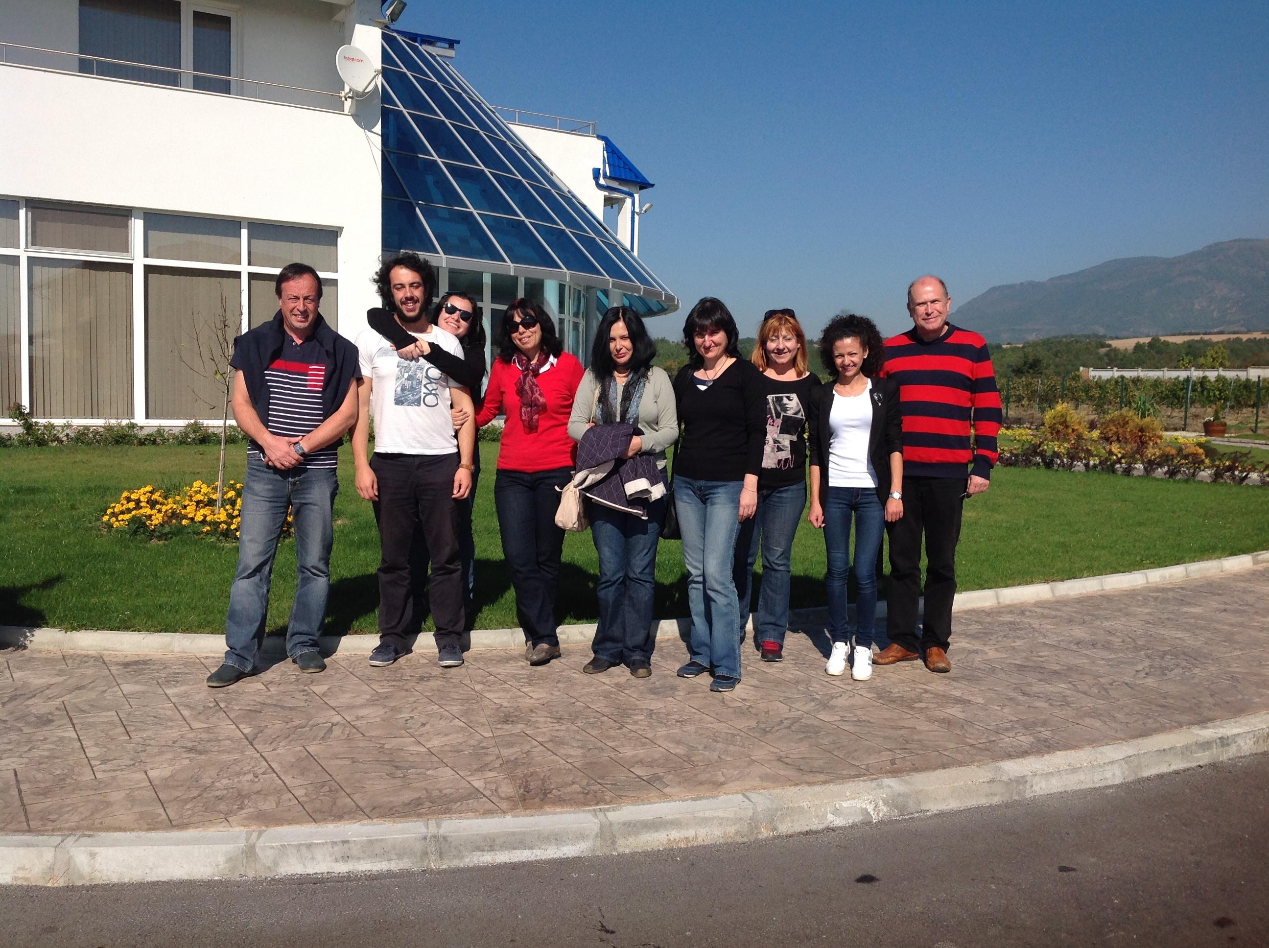 Групата пред Меди Валей