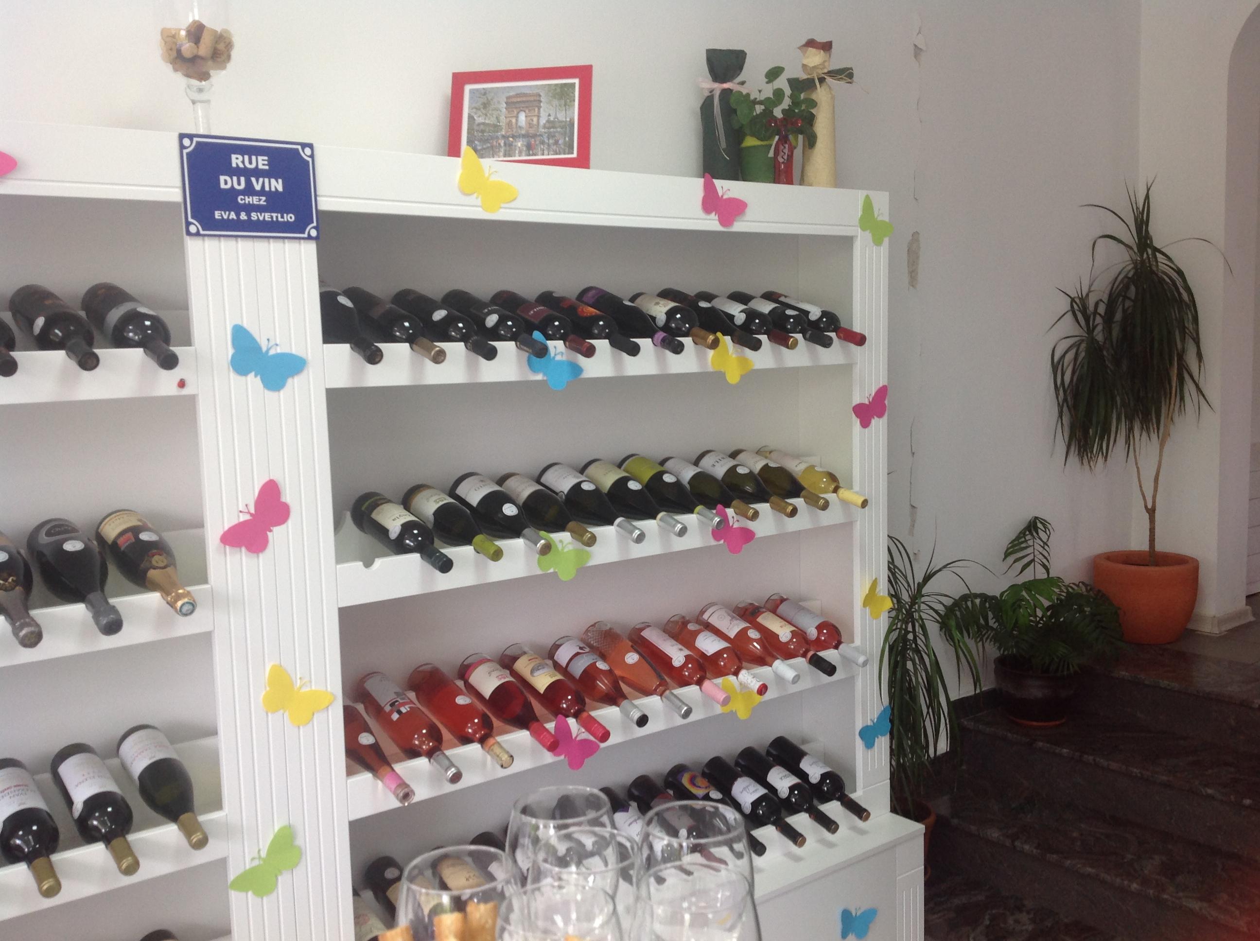 Винен шкаф за Дегустация на розе 2014