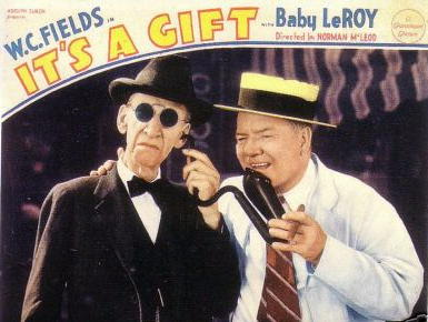 W.C. Fields - It's A Gift ad