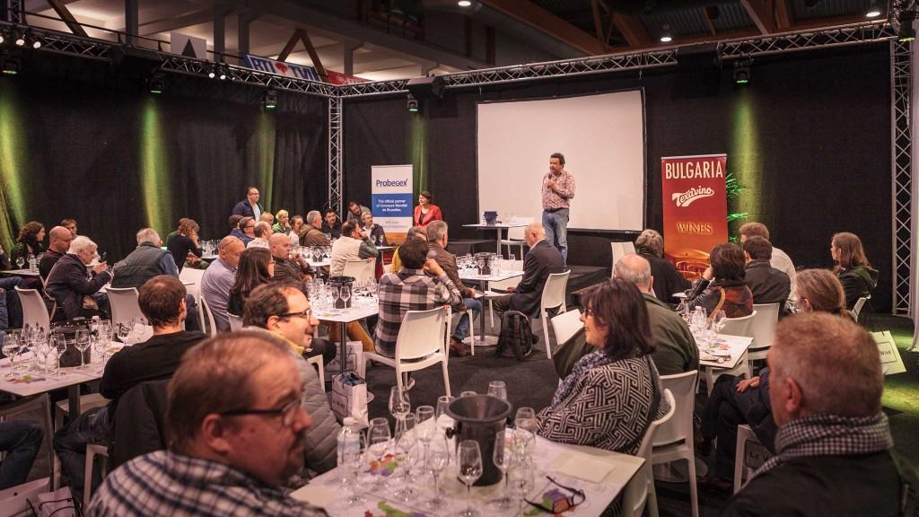 Ерик Бошман представя българските вина