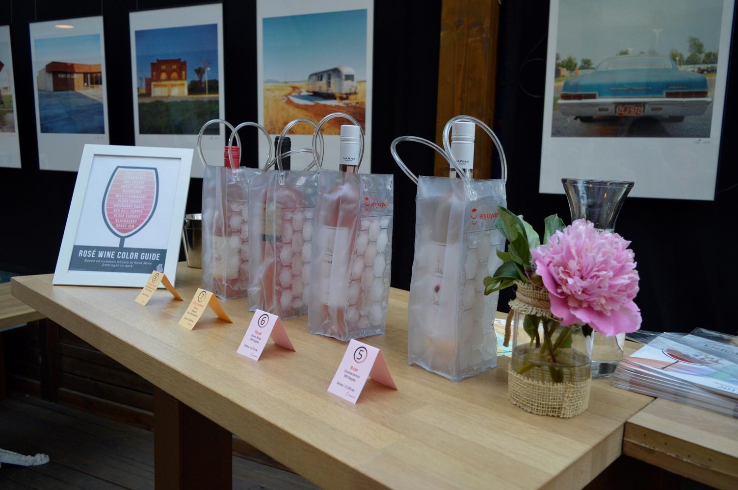 Розовата палитра на виното за сезон 2017