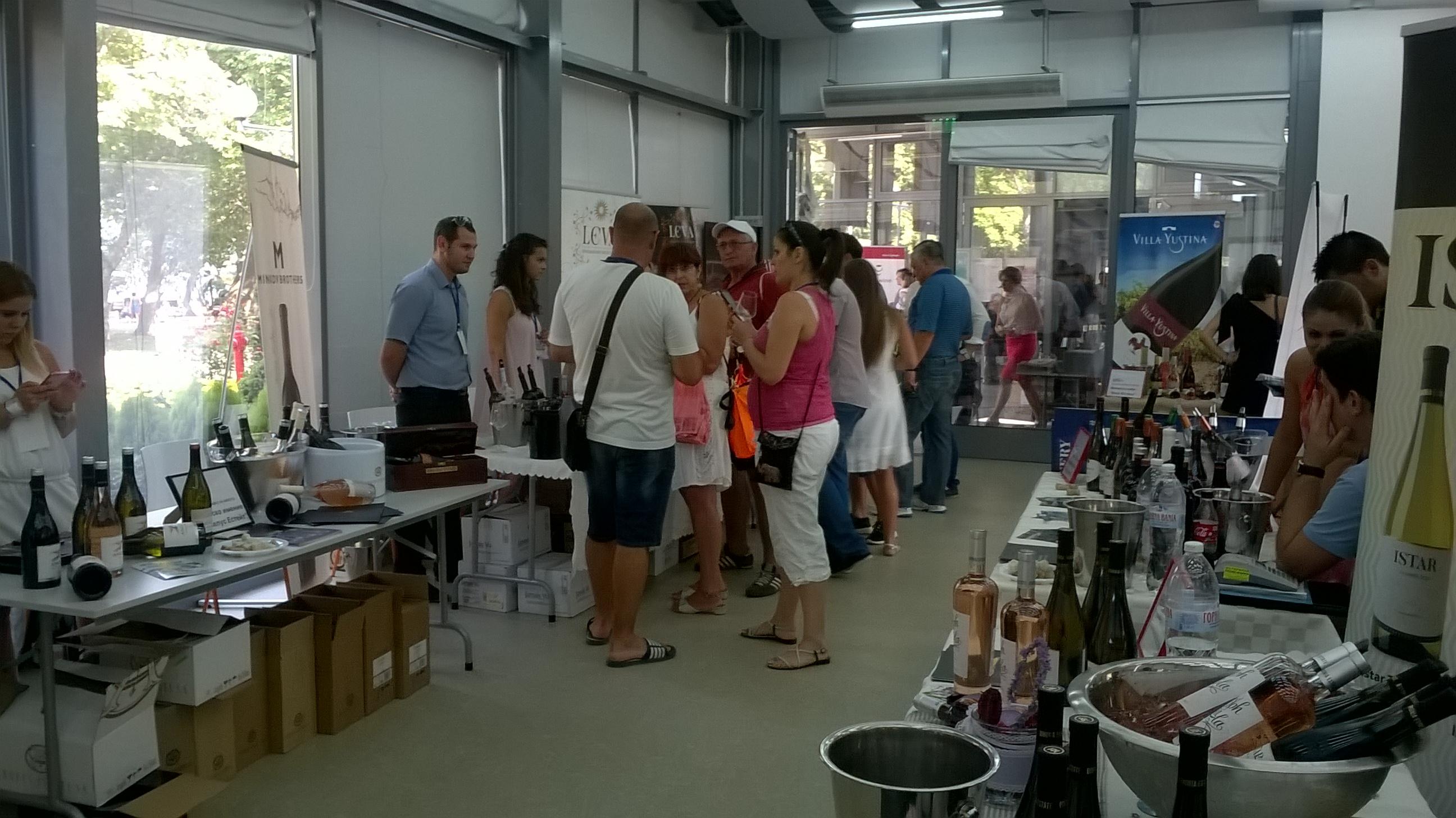 Четвърти фестивал на виното в Бургас