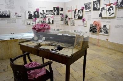 """Моден пърформанс с инсталация на тема """"Рози, розе и пътешествия в розово"""""""