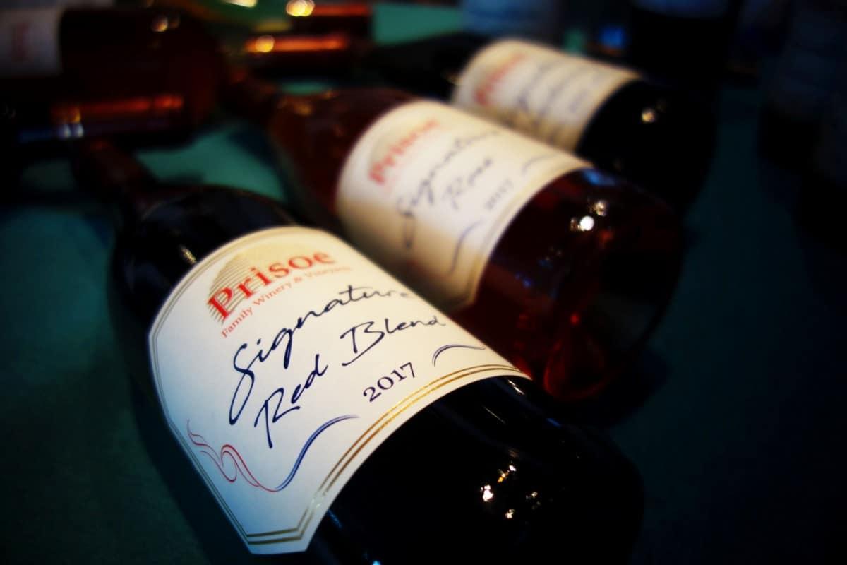 Prisoe Signature wines