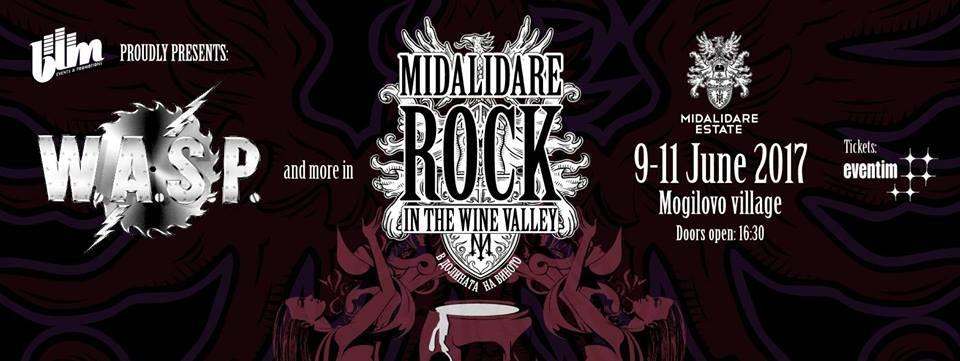 Рок в Долината на виното